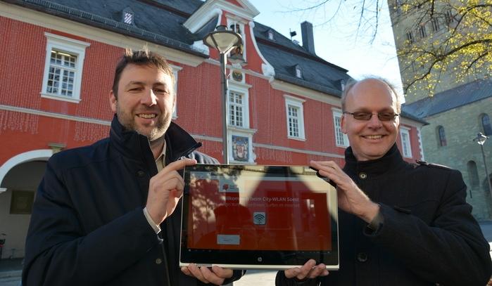 Stadtwerke Soest starten kostenloses City-WLAN